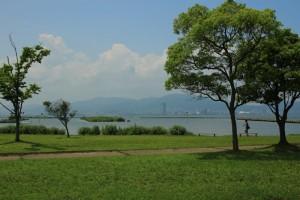 都市公園湖岸緑地(滋賀県草津市編)Kusatsu, Shiga