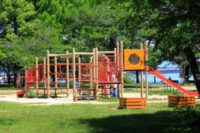 膳所城跡公園へ行ってきた!(大津市)大型遊具のある公園 | 滋賀県の観光と子どもの遊び場250ヶ所以上の訪...