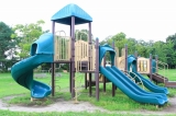 都市公園 湖岸緑地 新海薩摩地区 南三ツ谷公園(彦根市)バーベキューに水泳場での水遊び、大型遊具まで   ...