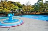 ぞうさんプール(彦根市)多景公園の遊具と水遊び場