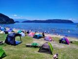 宮ヶ浜水泳場(近江八幡市)|利用料無料、駐車場代無料がうれしい、休暇村前の水遊びスポット!