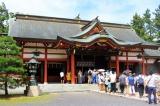 氣比神宮(福井県敦賀市) 敦賀まつりの舞台