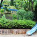 松が丘北児童公園へ行ってきた!(大津市)住宅街を見下ろしてのロングすべり台